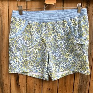 Womens Columbia PFG Shorts Blue Size M Swim